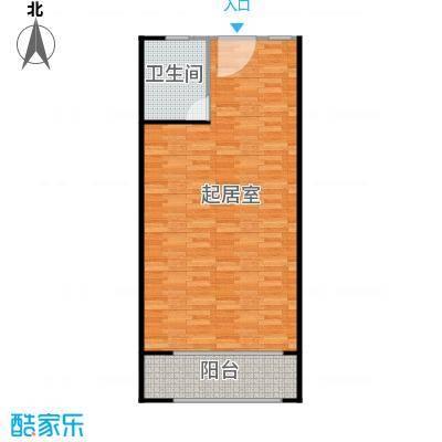 庄园御景62.33㎡4620户型1室1厅1卫