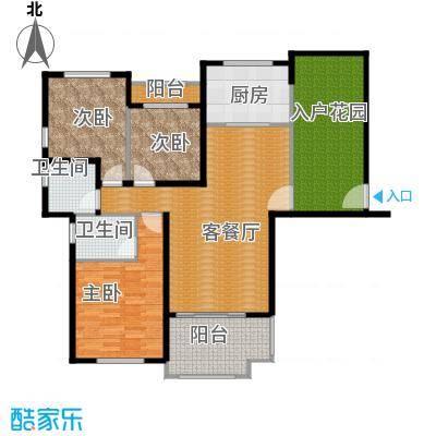 碧桂园滨湖城120.00㎡C16户型3室2厅2卫