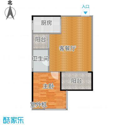 创基・幸福时光54.57㎡A-3户型10室