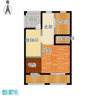 原树提香68.30㎡别墅产品三层平面图户型10室
