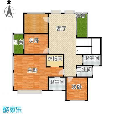 原树提香128.81㎡别墅产品二层平面图户型10室