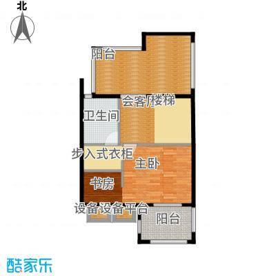 原树提香76.37㎡别墅产品三层平面图户型10室