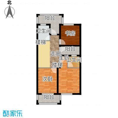 原树提香75.50㎡别墅产品二层平面图户型10室