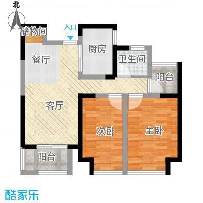 华地润园89.00㎡G6户型2室2厅1卫