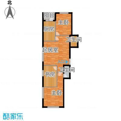 奥林小镇110.94㎡B/C栋户型3室2厅2卫