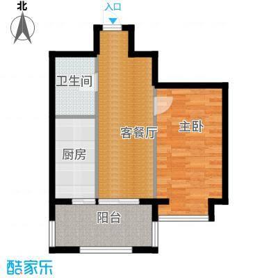 恒祥中山53.37㎡户型10室