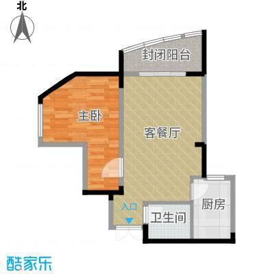 森林海52.64㎡户型10室