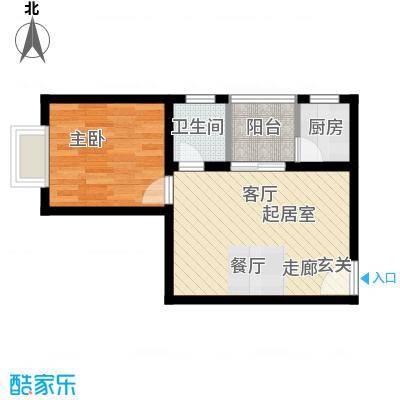翡翠园42.28㎡翡翠园户型10室