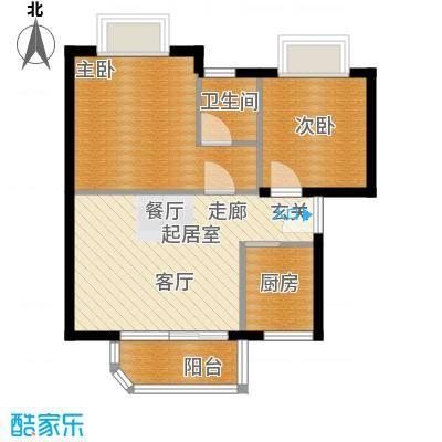 翡翠园54.38㎡翡翠园户型10室