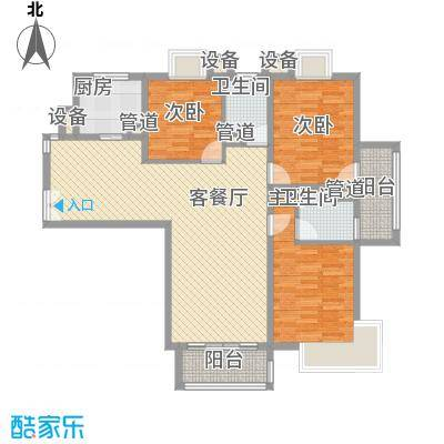 泰宸舒庭133.40㎡泰宸舒庭户型图户型图3室2厅2卫1厨户型3室2厅2卫1厨