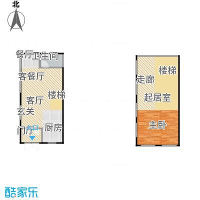 亚布力青云小镇98.15㎡商服户型