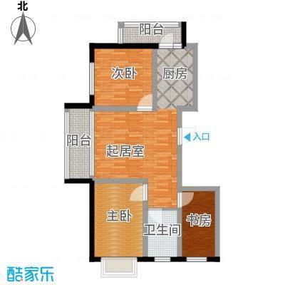 新龙城104.33㎡C2区高层C1#8#11#户型3室1厅1卫