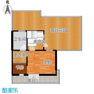 保利水韵长滩80.55㎡TL3三层户型10室