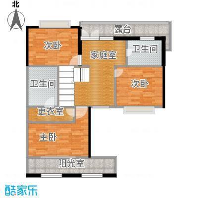 保利水韵长滩76.25㎡TL3二层户型10室
