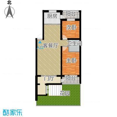 盛世香湾143.60㎡Y2户型2室2厅1卫