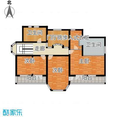 中浩青溪庄园157.54㎡F二层平面户型10室