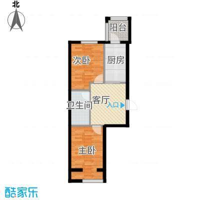 恒祥中山53.19㎡户型10室