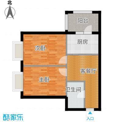 恒祥中山58.30㎡户型10室