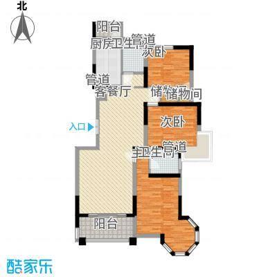 保集绿岛家园141.38㎡保集绿岛家园户型图XG-B型3室2厅2卫1厨户型3室2厅2卫1厨