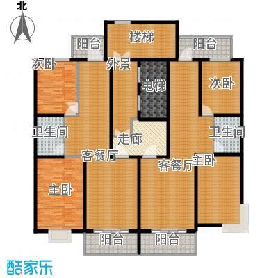 江尚逸品230.13㎡户型10室
