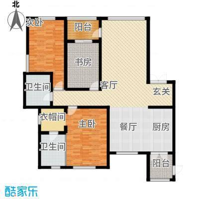 盛和天下118.97㎡G14户型3室2厅2卫