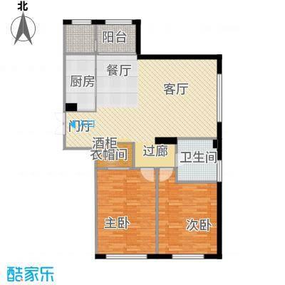 汇锦庄园127.00㎡G1户型2室2厅1卫