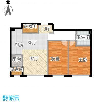 汇锦庄园112.00㎡G1户型2室2厅1卫