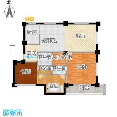 那香山116.64㎡B1/B2户型10室