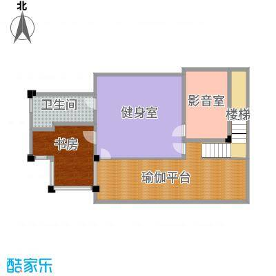 那香山144.56㎡C2负1层户型10室