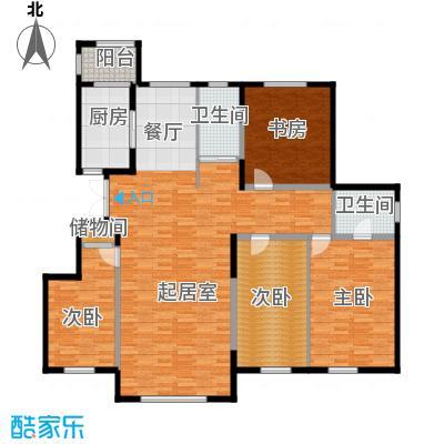 新星宇和源168.20㎡A12-01户型4室2厅2卫