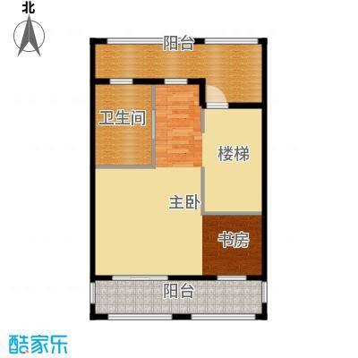 原树提香68.49㎡别墅产品三层平面图户型10室