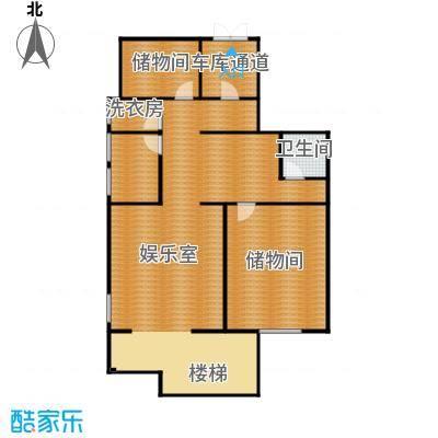 原树提香127.90㎡别墅产品负一层平面图户型10室