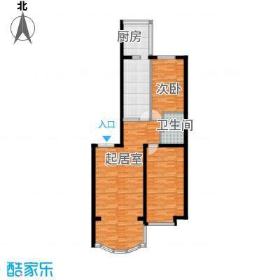 观江首府55.90㎡户型10室