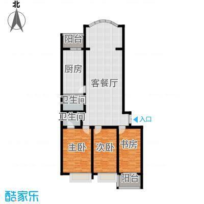 观江首府140.36㎡户型10室
