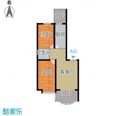 观江首府104.76㎡户型10室