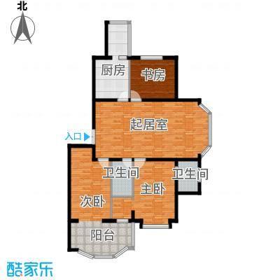 观江首府123.39㎡户型10室