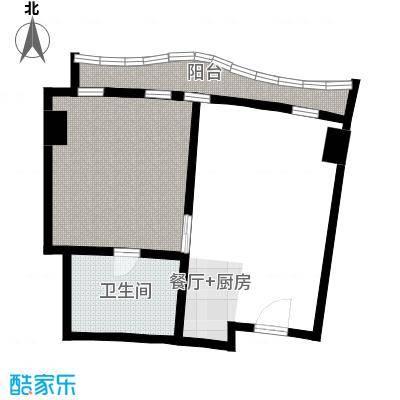 擎天半岛滨海国际公寓81.43㎡户型10室