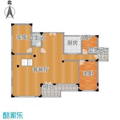 中浩青溪庄园204.11㎡A一层平面户型10室