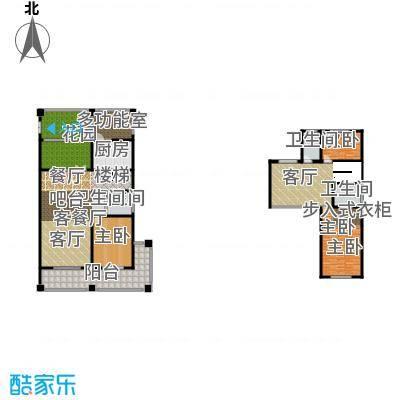 绿地内森庄园274.00㎡户型3室2厅3卫