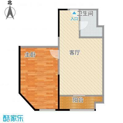 益田枫露71.55㎡III户型1室1厅1卫