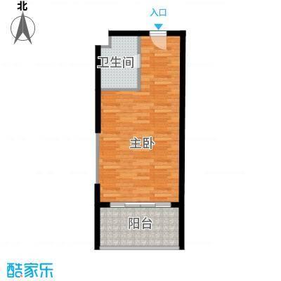 山海湾温泉家园44.00㎡户型10室