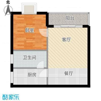 山海湾温泉家园45.00㎡户型10室