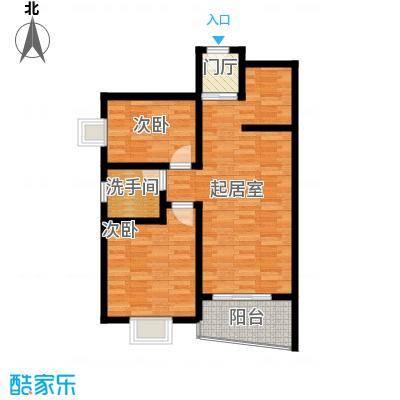 山海湾温泉家园82.00㎡户型10室