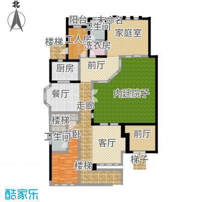 山水华门373.44㎡19#、20#、31#、32#、33#别墅一层户型1室2卫1厨