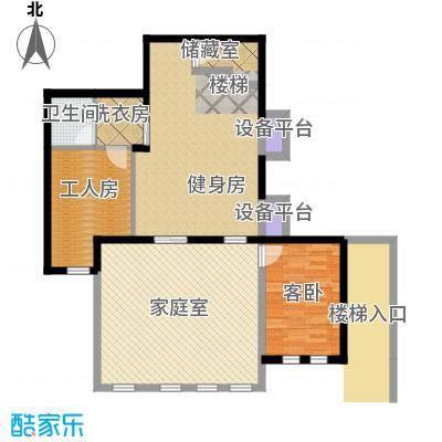 山水华门96.15㎡2326号楼独栋别墅半地下层户型1室1卫