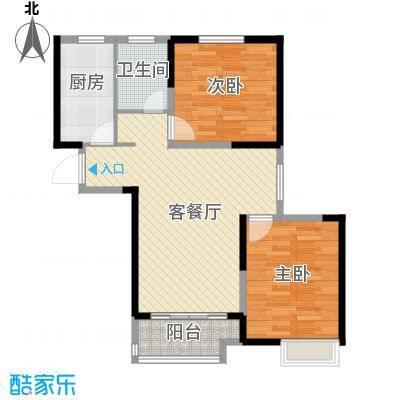 华菁水苑68.04㎡户型10室
