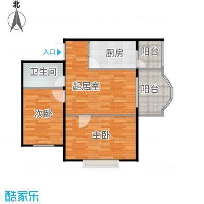 润园翡翠城62.19㎡户型10室