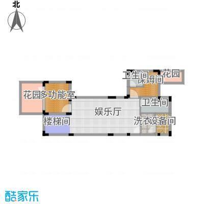 龙泉谷・三亚的山82.70㎡一期兰庭苑独栋D户型4室5厅9卫