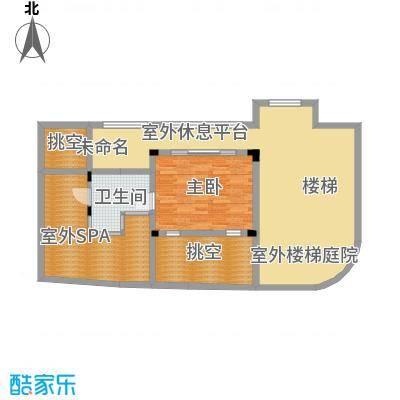 龙泉谷・三亚的山80.00㎡二期叠泉苑D户型2室2厅1卫