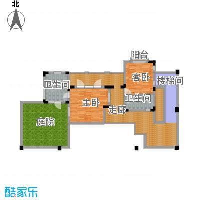 龙泉谷・三亚的山52.33㎡一期兰庭苑独栋D户型4室5厅9卫